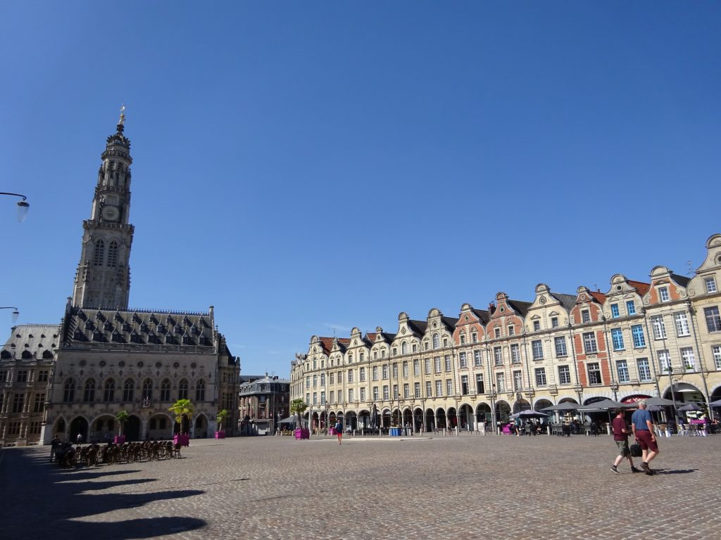 Arras capital of Pas-de-Calais