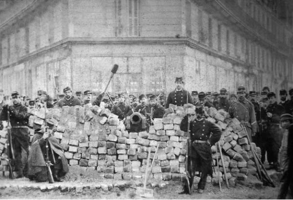 Barrikaden Pariser Kommune