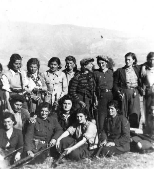 Jugoslawische Partisaninnen der 4.Arbeiterinnen Brigade