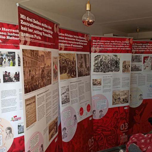Ausstellung Pariser Kommune
